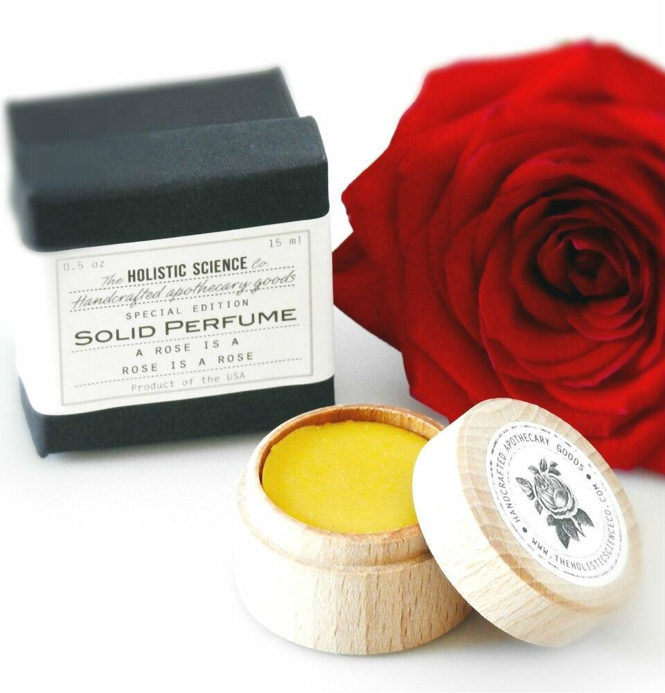 A Rose Is A Rose Is A Rose - Solid Perfume