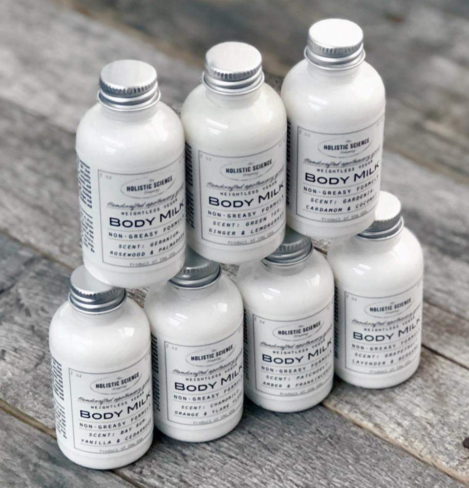 Vegan Body Milk – Orange, Chamomile & Ylang Ylang 2oz