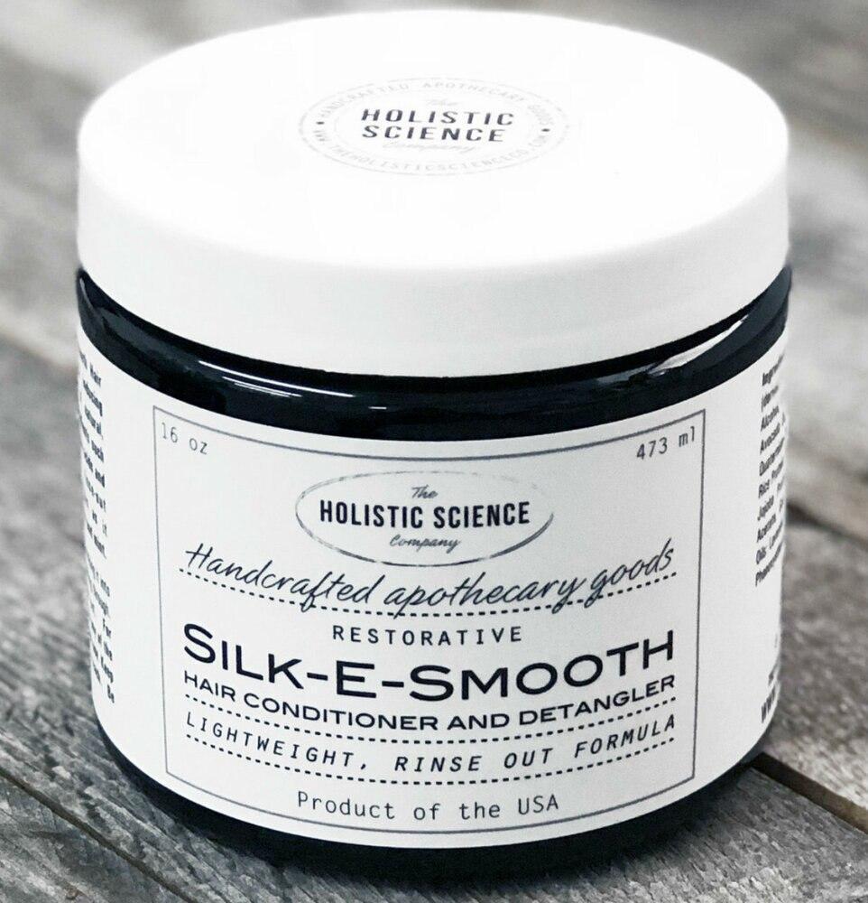 Silk-E-Smooth Rinse-out Conditioner and Detangler, 16oz