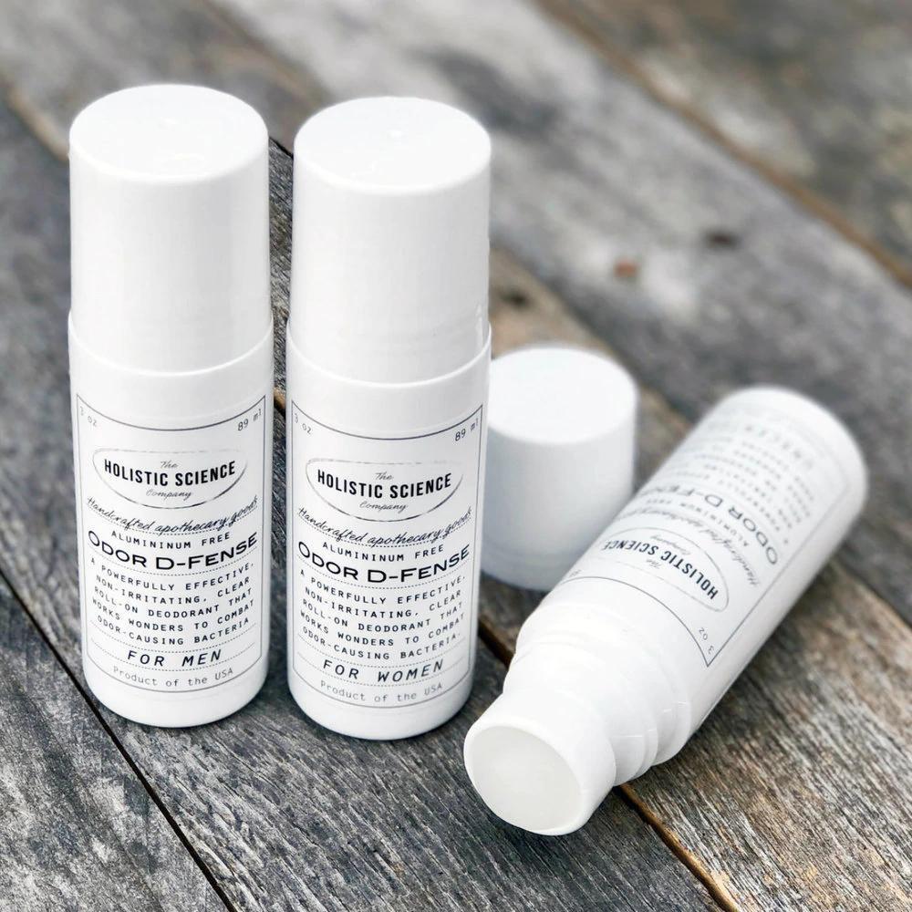 Odor D-fense Aluminum-free Deodorant, Unscented (NEW!)