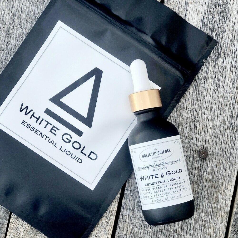 White Gold Essential Liquid (ORMUS)