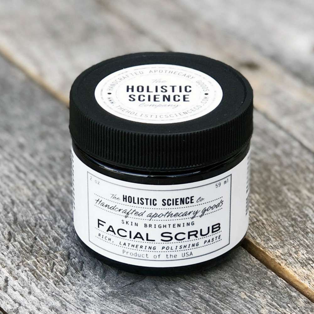 Cleansing Facial Scrub, 2oz