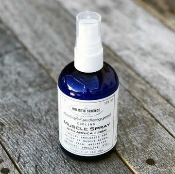 Cooling Muscle Spray with Arnica+MSM, 4oz