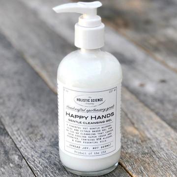 Happy Hands Gentle Cleansing Gel, 8oz (NEW!)