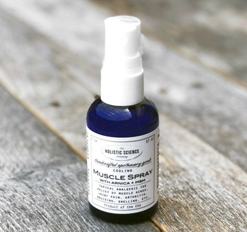 Cooling Muscle Spray with Arnica+MSM, 2oz