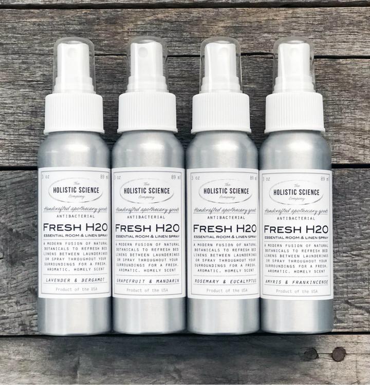 Fresh H2O Essential Room & Linen Spray (Rosemary & Eucalyptus)