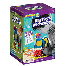 Learning Resources; GeoSafari; Jr. My First Microscope, 10 inch;H x 7 inch;W x 6 inch;D