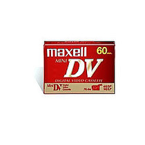 Maxell; Mini Digital Video Cassettes, 60 Minutes, Pack Of 2