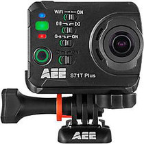 AEE S71T Plus Digital Camcorder - Touchscreen LCD - 4K - Black