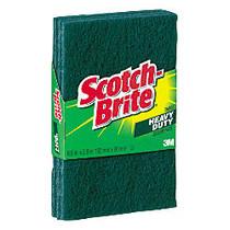 Scotch-Brite™ Scour Pads, Green, Pack Of 3