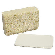 SKILCRAFT; Cellulose Sponge, 5 3/4 inch; x 3 5/8 inch;, Pack Of 12 (AbilityOne 7920-00-240-2555)