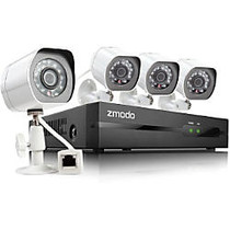 Zmodo 4 Channel All-in-One sPoE NVR HD Security System