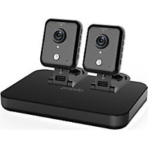 Zmodo 720p HD Smart Wireless Home Kit with 2 Indoor WiFi Cameras and 500GB Hard Drive