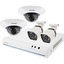 Zmodo 8 Channel 720p NVR system with 4 HD Indoor/Outdoor IP Cameras & 1TB HDD