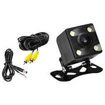 Pyle Rear View Camera - 0 Lux Night Vision LED Lights with Distance Scale Lines