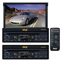 Pyle PLTS73FX Car DVD Player - 7 inch; Touchscreen LCD - 16:9 - 320 W RMS - Single DIN