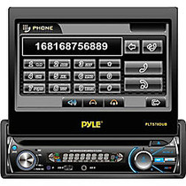 Pyle PLTS78DUB Car DVD Player - 7 inch; Touchscreen LCD - Single DIN