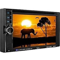 XOVision XOD1752BT Car DVD Player - 6.2 inch; Touchscreen LCD - Double DIN