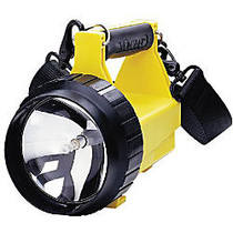 Streamlight; Vulcan; Standard System Rechargeable Lantern With 120V AC/DC Charger And Charging Rack, Yellow
