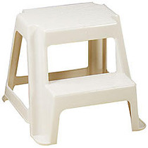 Rubbermaid; 2-Step Step Stool, 300 Lb. Capacity, Putty