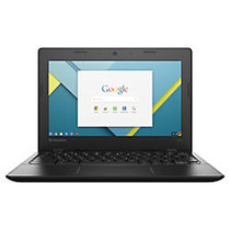 Lenovo; IdeaPad 100s Chromebook, 11.6 inch; Screen, Intel; Celeron;, 2GB Memory, 16GB Solid State Drive, Chrome Operating System