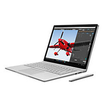 """Microsoft; Surface Book Laptop, 13.5"""" Touch Screen, Intel; Core™ i5, 8GB Memory, 256GB Solid State Drive, Windows; 10 Pro"""