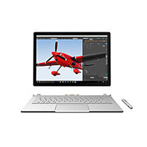 """Microsoft; Surface Book Laptop, 13.5"""" Touch Screen, Intel; Core™ i7, 16GB Memory, 512GB Solid State Drive, Windows; 10 Pro"""