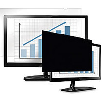 Fellowes PrivaScreen Blackout Privacy Filter - 23.8 inch; Wide Black - For 23.8 inch;LCD Notebook, Monitor - TAA Compliant