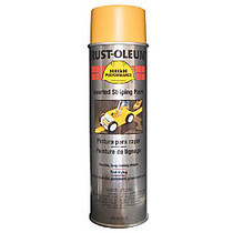 Rust-Oleum High-Performance 2300 System Inverted Striping Paint, 20 Oz, Matte Yellow