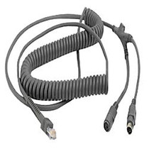 Zebra Universal Keyboard Wedge Cable (Coiled)