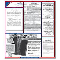 ComplyRight™ Texas State Labor Law Spanish Poster, 24 inch; x 24 inch;