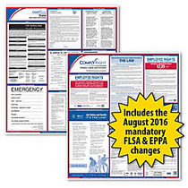 ComplyRight™ Utah Federal/State Labor Law Poster Kit, 24 inch; x 24 inch;