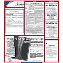 ComplyRight™ Vermont State Labor Law Poster, 37 inch; x 24 inch;