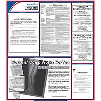 ComplyRight™ Washington State Labor Law Poster, 24 inch; x 24 inch;