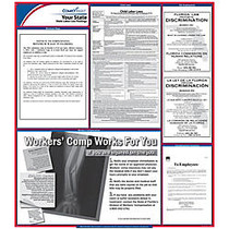ComplyRight™ Wyoming State Labor Law Poster, 30 inch; x 24 inch;
