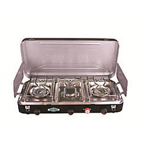 Stansport Propane Stove With Piezo Electronic Ignition, Black