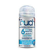Touch™ Sanitizing GermBlock™ For Hands, Unscented, 1 Oz