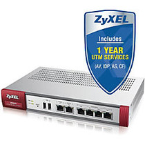 ZyXEL USG60 Next-Generation USG Firewall, With 1 Year UTM Services