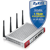 ZyXEL USG60W Next-Generation USG 11n Firewall, With 1 Year UTM Services