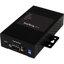 StarTech.com 1 Port Industrial RS-232/422/485 Serial to IP Ethernet Device Server - 2x 10/100Mbps Ports