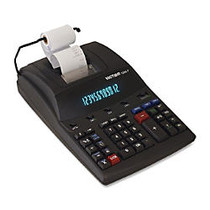 Victor; 1280-7 12-Digit Heavy-Duty Commercial Printing Calculator With Wireless Data Relay