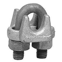 3/8 inch; 1000-G WIRE ROPE CLIP FORGED CARB