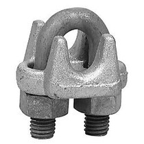 5/8 inch; 1000-G WIRE ROPE CLIP FORGED CARB