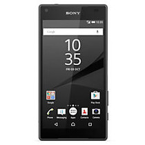 Sony; Xperia Z5 Cell Phone, Compact, Black, PSN300102