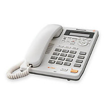 Panasonic KX-TS620W Integrated Telephone System with All-Digital Answering System, White
