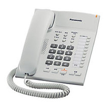 Panasonic KX-TS840W Integrated Telephone System with Hands-Free Speakerphone in White