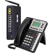 XBLUE; X-50XL VoIP Wi-Fi Telephone System With 12 X3030 IP Phones And X50XL Expansion