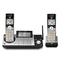 AT&T DECT 6.0 Cordless Phone With Digital Answering System, CL83215, 2 Handsets