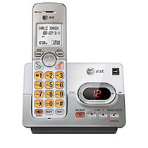 AT&T EL52103 DECT 6.0 Expandable Cordless Phone System With Digital Answering Machine