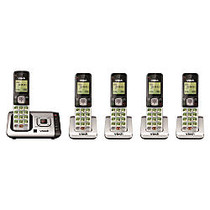 VTech; CS6729-5 DECT 6.0 Cordless Phone System With Digital Answering Machine